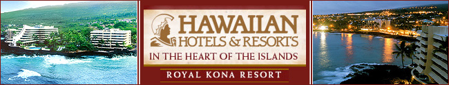 Royal Kona Resort Hawii - Honeymoon Destination