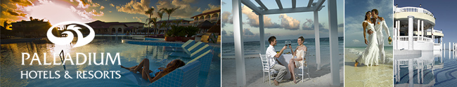 Palladium Hotels & Resorts Honeymoon Registry