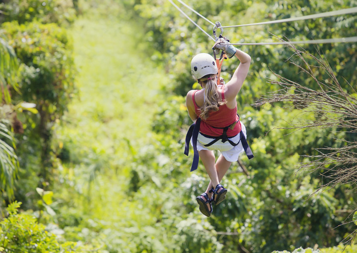 Antigua Rainforest Zipline Adventure