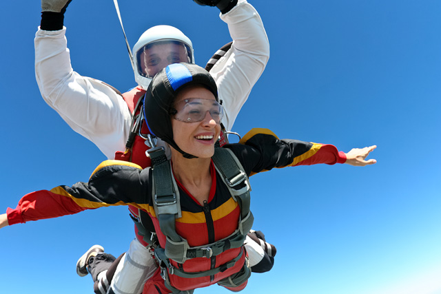 Sky Diving in Santa Barbara